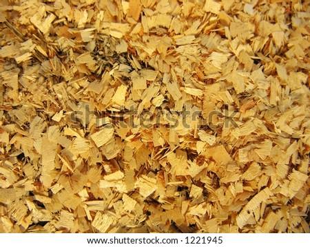 sawdusts - stock photo
