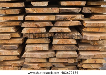 sawmill, wood processing, timber drying, timber harvesting, drying boards, baulk - stock photo
