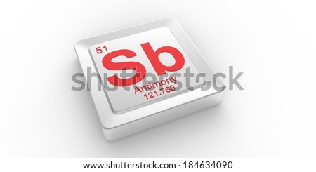 Sb symbol 51 material antimony chemical stock illustration 184634090 sb symbol 51 material for antimony chemical element of the periodic table urtaz Image collections