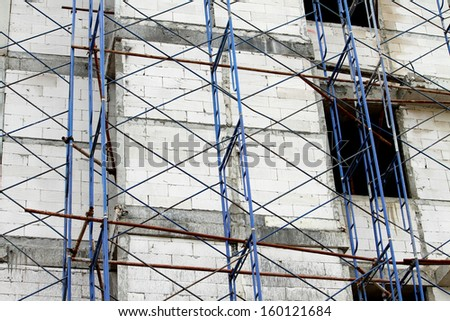 Scaffolding ,building construction