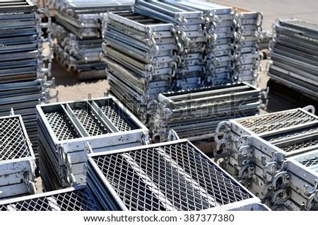 Bon Scaffolding Materials Storage