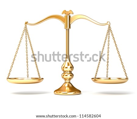 Scale Balance - stock photo
