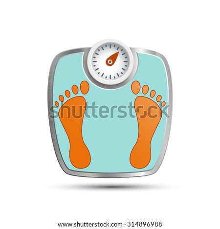 Scales for weighing. Stock image.