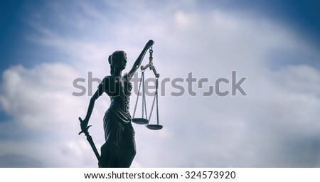 Scales of Justice background - legal law concept  - stock photo