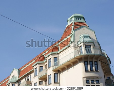 Scandinavian Architecture Stock Photo (Royalty Free) 32891089 ...