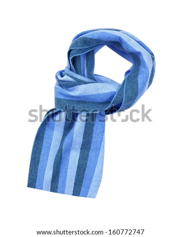scarf isolated on white background