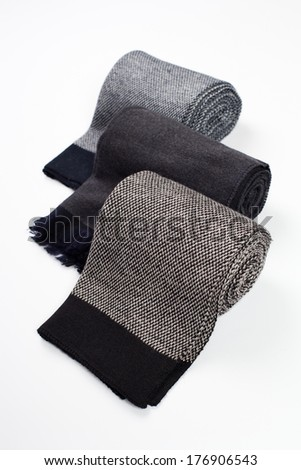 scarf on a white background