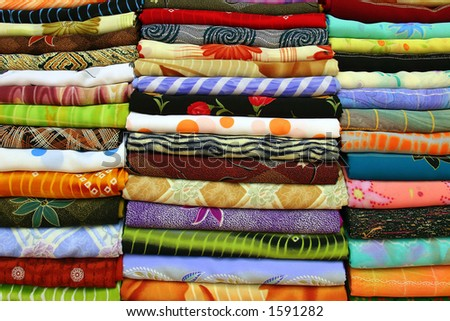 scarfs in the market