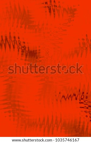 Scarlet abstract digital creative background. Overlapping colors. Illustration