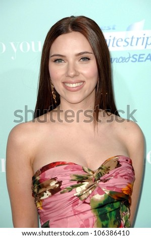 Scarlett Johansson at the World Premiere of 'He's Just Not That Into You'. Grauman's Chinese Theatre, Hollywood, CA. 02-02-09 - stock photo
