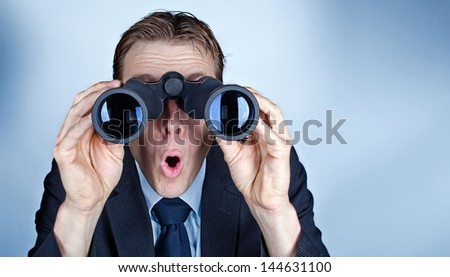 Scary future - stock photo