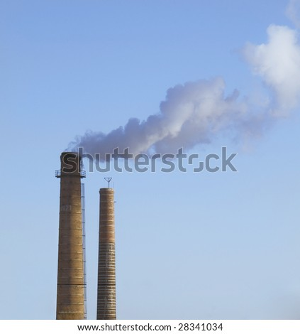 Scary Image of Power Plant emissions
