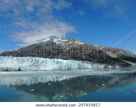 Scene from Glacier Bay, Alaska
