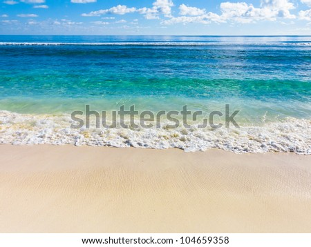 Scene Waters Storm - stock photo