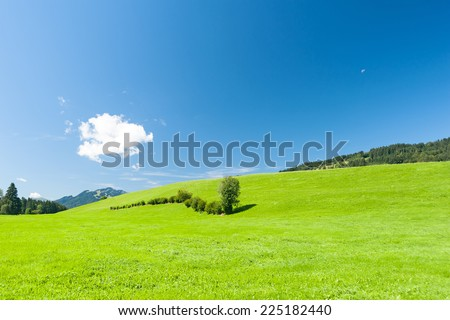 Scenery in Southern Germany
