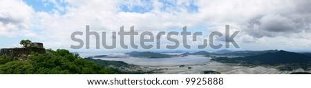 Scenery of Korean West Coast - stock photo