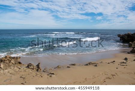 blue ocean clouds scenic - photo #41