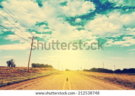 Scenic Road - stock photo