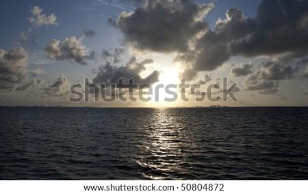 Scenic Sunrise Shot - stock photo