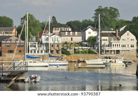 Scenic View of Rockport Harbor 2
