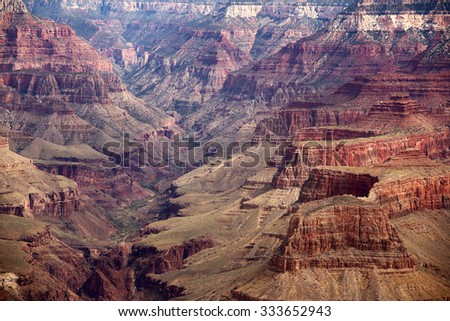 Scenic view of the Grand Canyon National Park, Arizona, USA