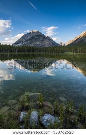 Scenic views Kananaskis Country Alberta Canada - stock photo