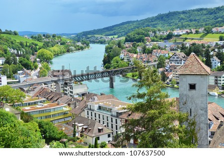 Schaffhausen, Switzerland - stock photo