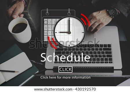 Schedule Appointment Organizer Plan Reminder Concept - stock photo