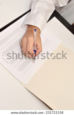 Schedule of payments on the loan - stock photo