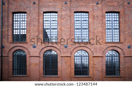 Scheibler's lofts in Lodz - stock photo
