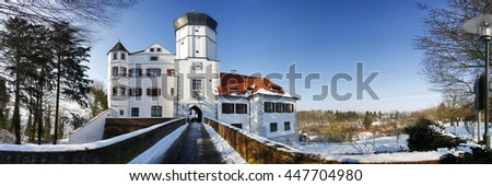 Schloss - stock photo