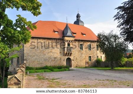 Schloss Blankenhain Thüringen Germany - stock photo