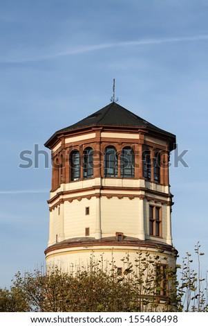 Schlossturm (tower of Dusseldorf castle) - stock photo