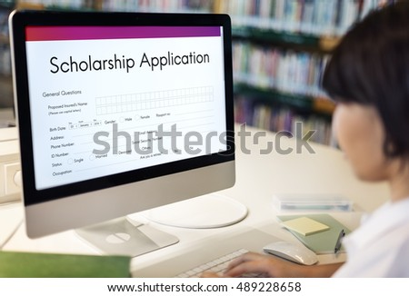 Scholarship Application Stock Images RoyaltyFree Images