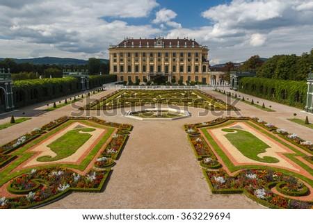 Schonbrunn, Vienna, Austria - stock photo
