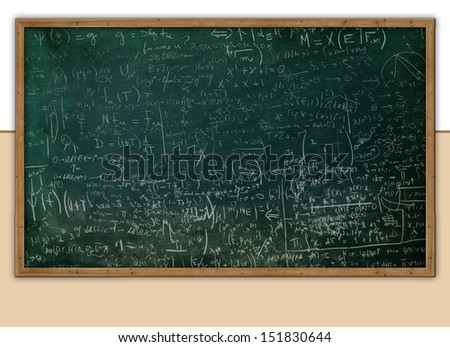 school background - stock photo