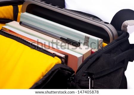 school bags - stock photo