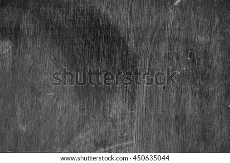 School black  wood Chalkboard wall for background.copy space - stock photo