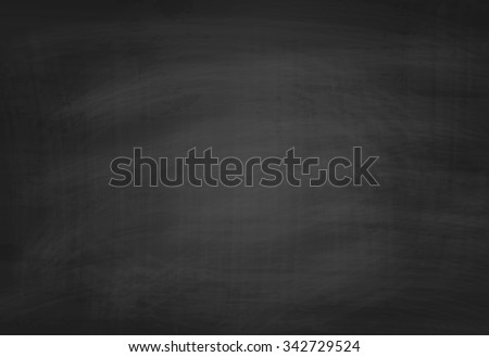 School Blackboard Texture. Black Chalkboard Background - stock photo
