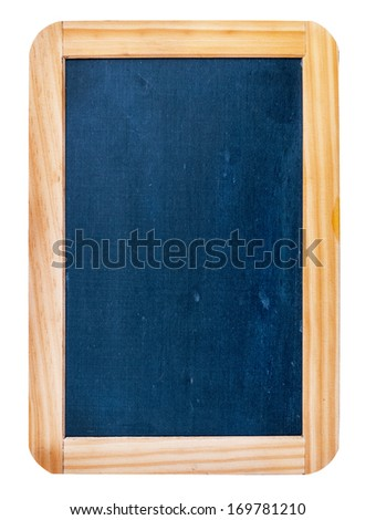 School board isolated on white background