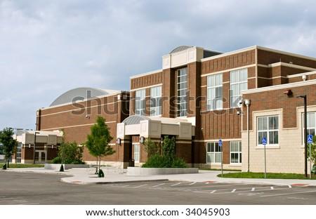 School Building - stock photo