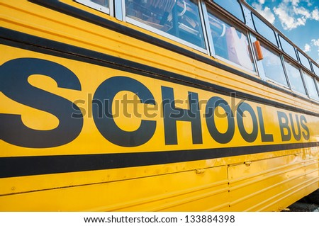 School Bus. - stock photo