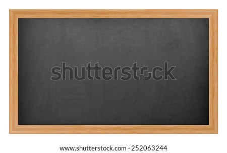 School chalkboard - stock photo