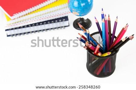 School Education Equipment Tools - stock photo
