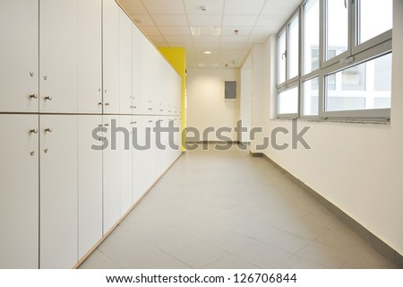 School Hall - stock photo