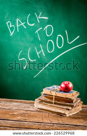 School is ready to students coming back - stock photo