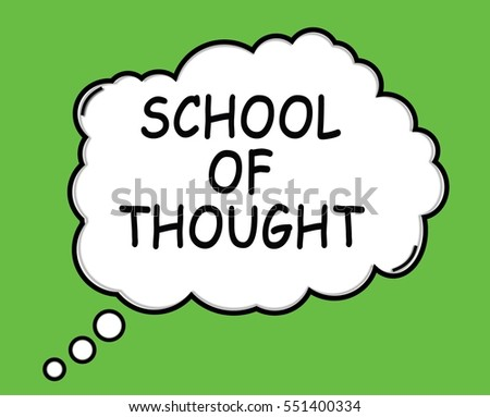 environmental schools of thought Major psychological schools of thought wundt's ideas formed the basis of the first school of thought (or perspective) in psychology, known as structuralism environmental factors - with no need to consider inner mental processes.