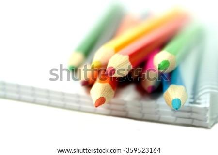 School pencils - stock photo