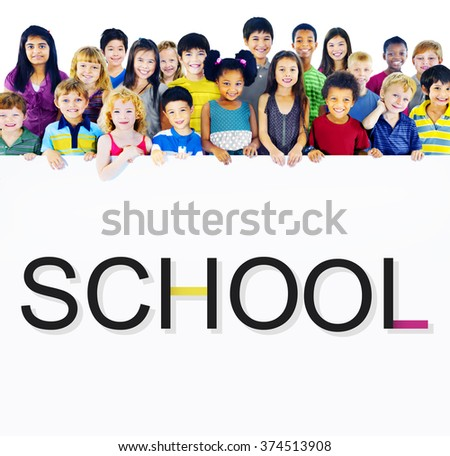 School Schooling Student Knowledge Educational Concept - stock photo