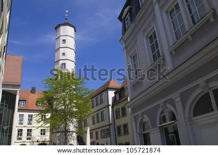 Schrotturm in Schweinfurt - stock photo